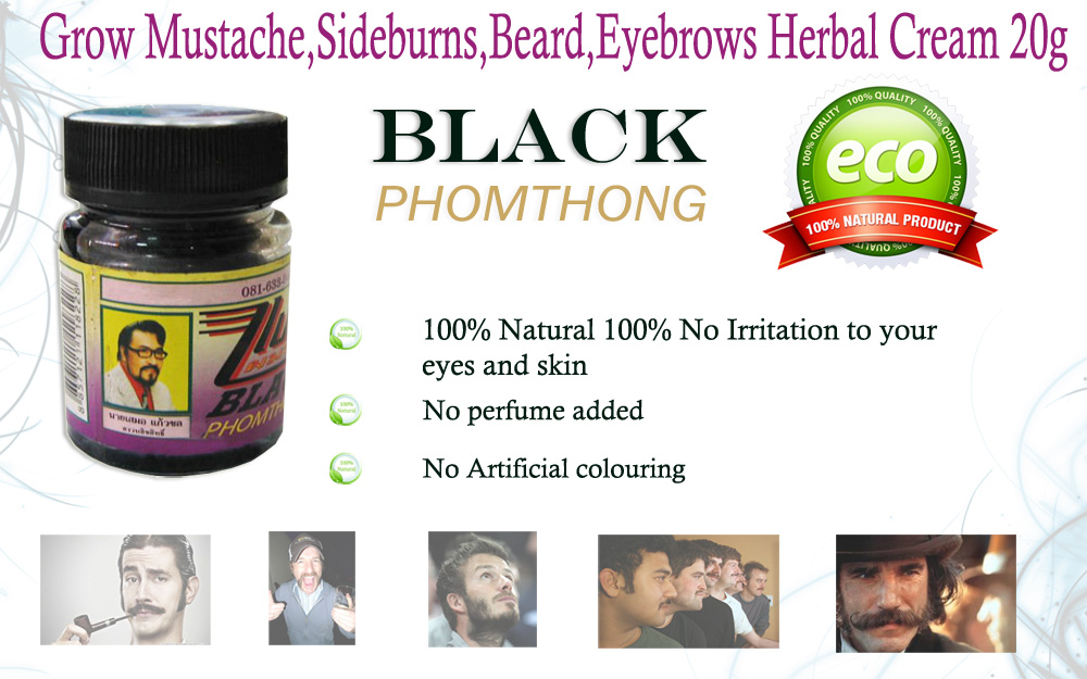 facial and eyebrow hair growth treatment for men